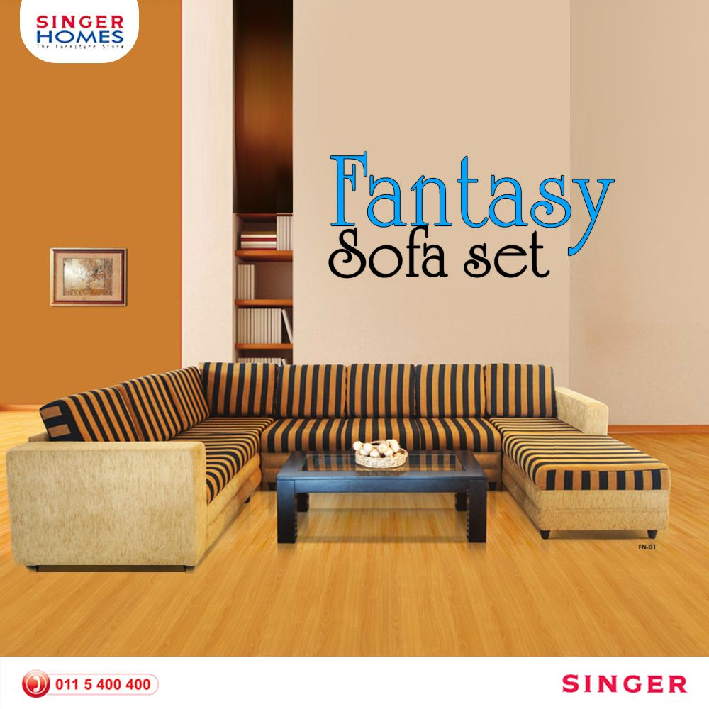 Add that touch of luxury to your living room with the Singer ...
