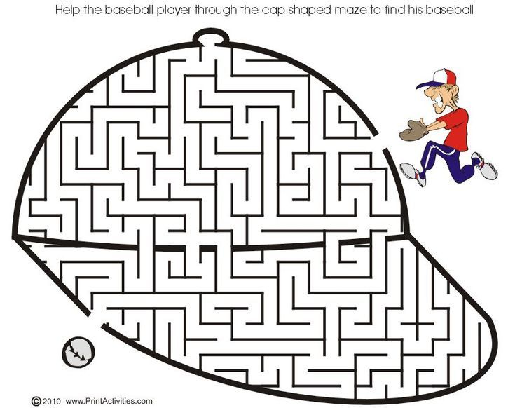 1000 Free Printable Mazes That Kids of All Ages Will Love  Maze