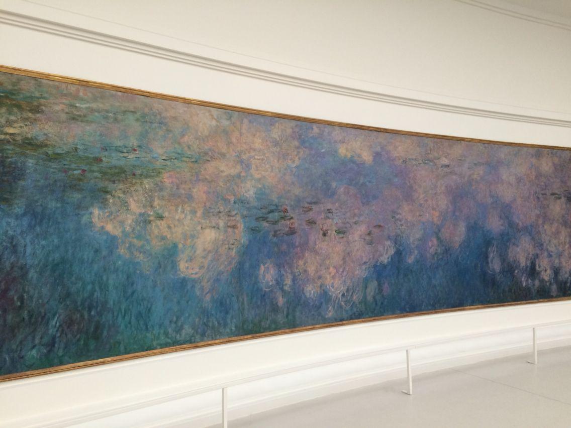 Las Nypheas de Claude Monet, Musée de l'Orangerie