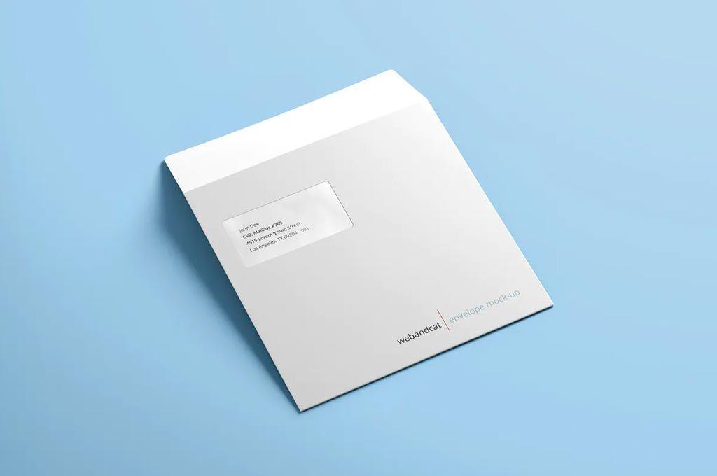 Free Envelope Mockup The Designest Mockup Envelope Mockup Corporate Identity Design