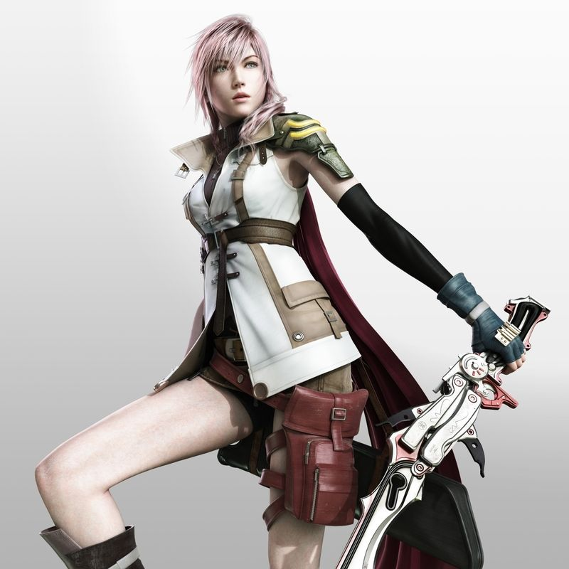 Final Fantasy Xiii Claire Farron Wallpaper Final Fantasy Girls Lightning Final Fantasy Fantasy Girl