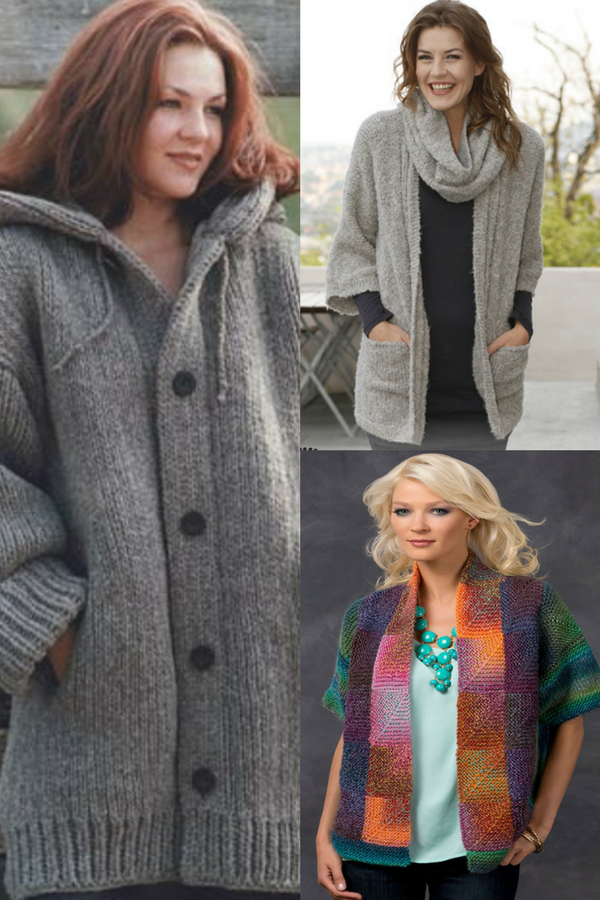 30+ Free Knitting Patterns for Ladies\' Jackets | Knitting ...