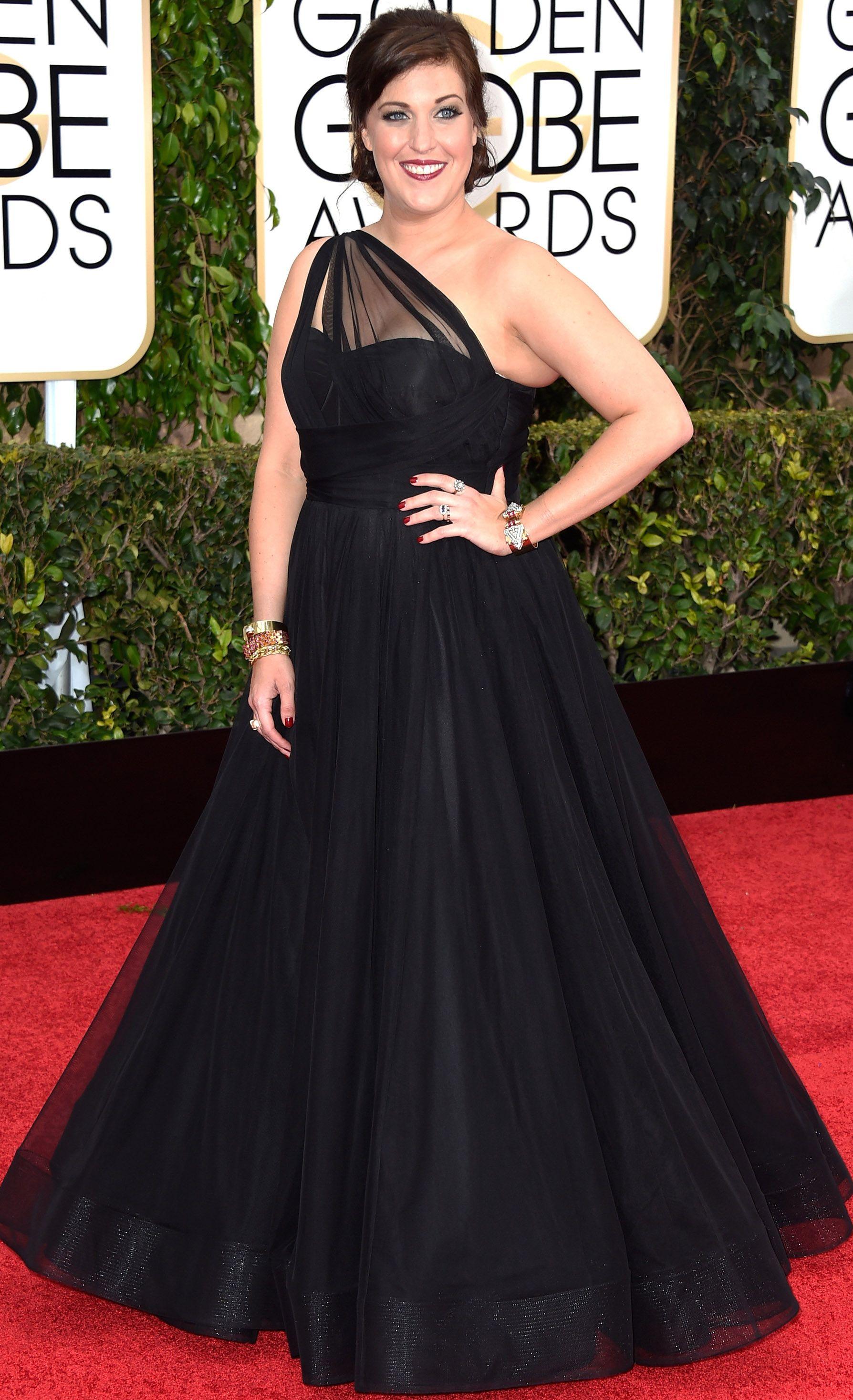 Allison Tolman - 72nd annual Golden Globe Awards, arrivals (January 11)