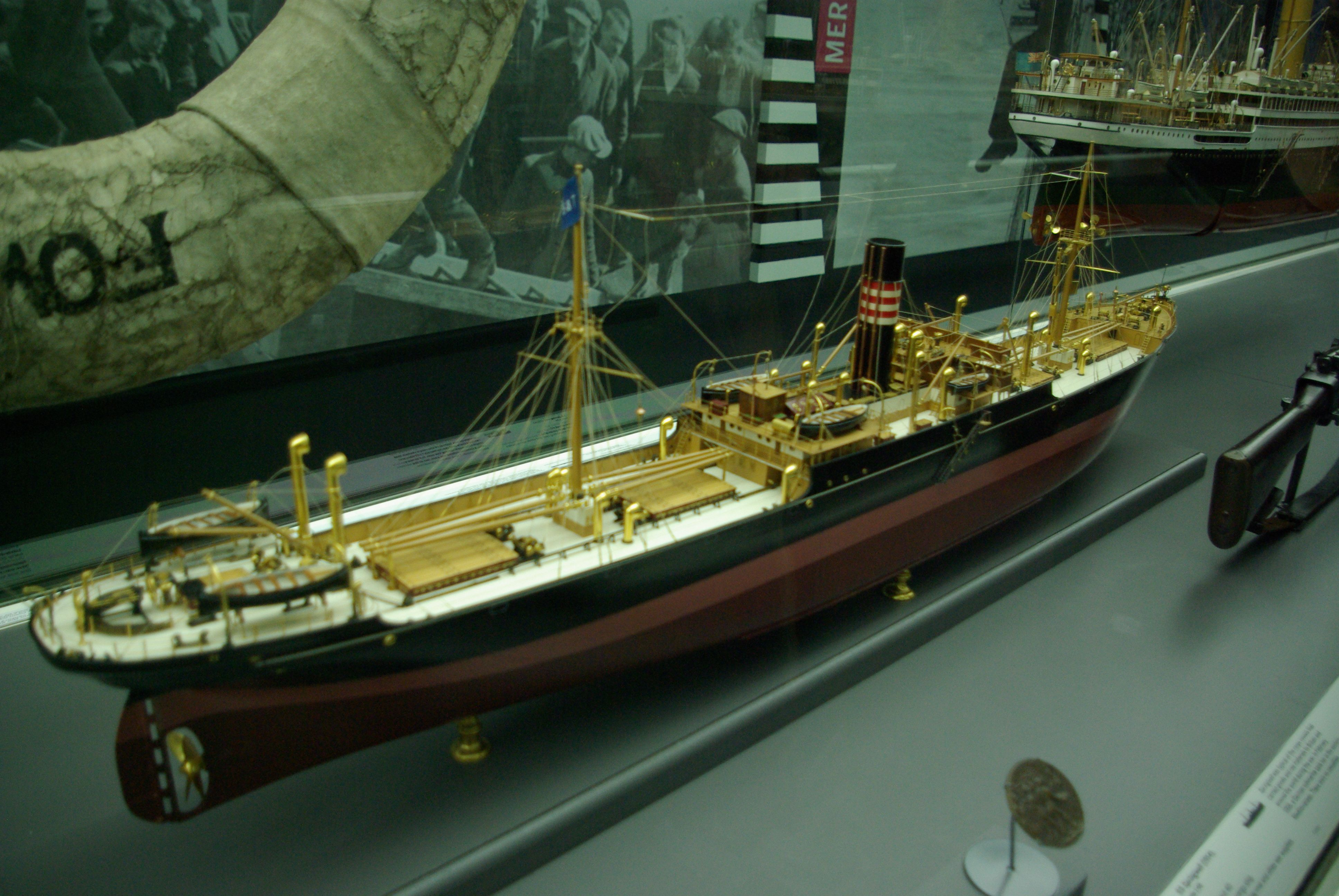 SS Springwell, cargo ship.