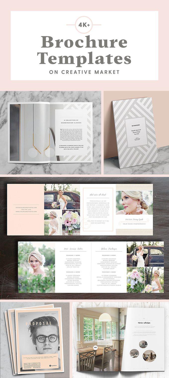 Gorgeous brochure designs that will make an impact! Tri fold ...