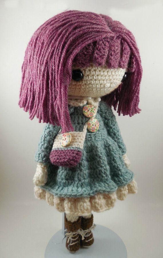 Kendra- Amigurumi Doll Crochet Pattern PDF   Ganchillo patrones ...