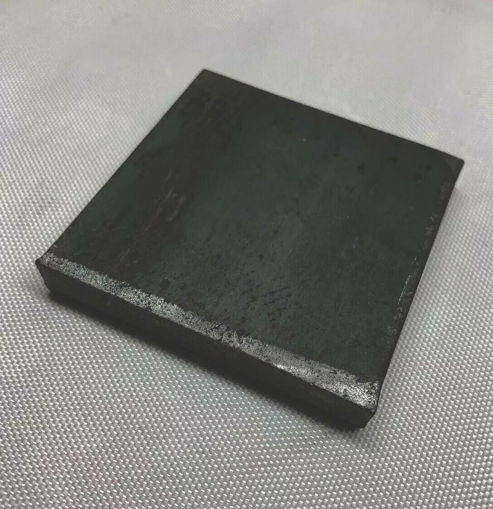 Steel Plate Spacer Or Shim 2 1 2 X 2 1 2 And 3 8 Thick Ebay Steel Plate Steel Raw Steel