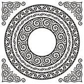 Kreis-Bilder — Stockvektor