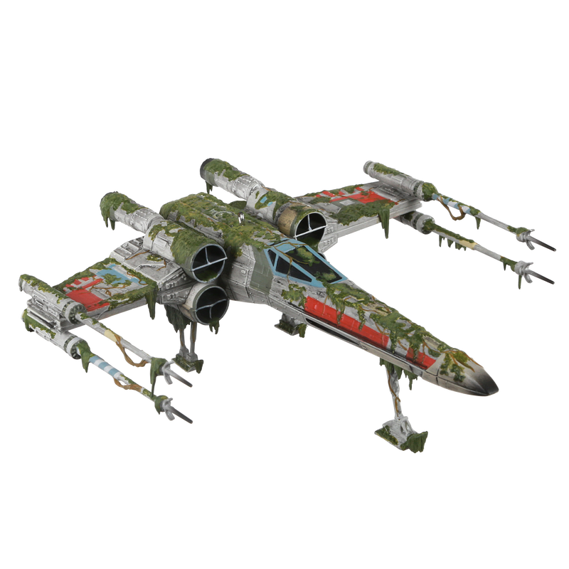 Star Wars The Empire Strikes Back X Wing Starfighter On Dagobah Ornament In 2021 Empire Strike Starfighter X Wing Starfighter
