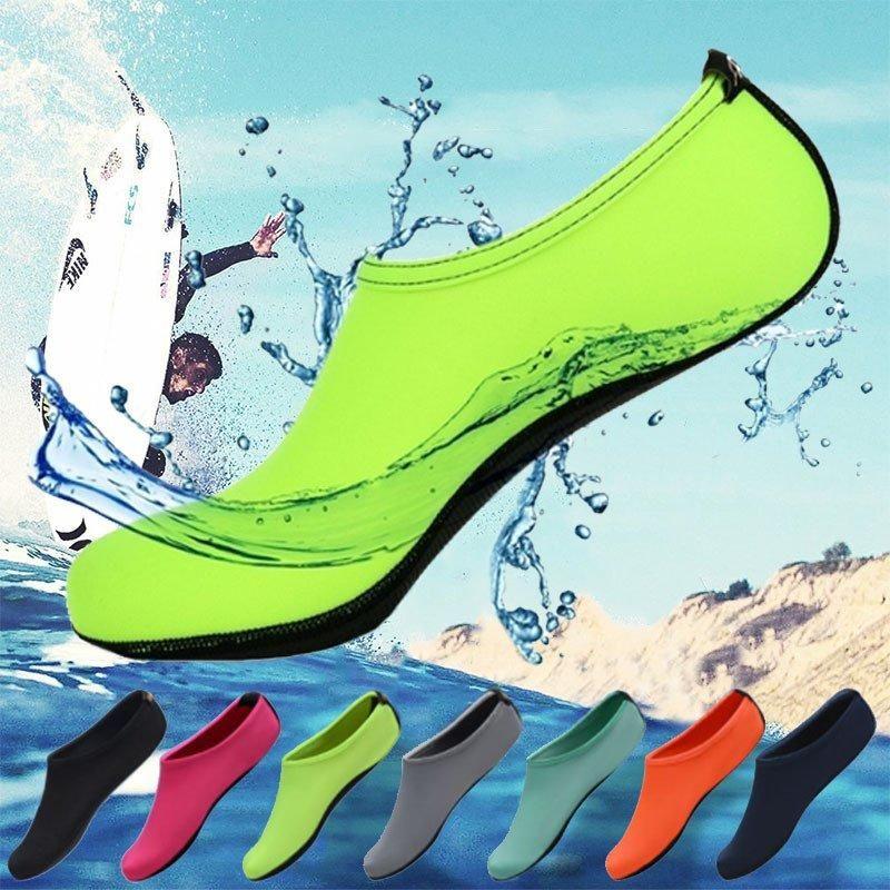 Men Women Water Shoes Aqua Beach Socks Swimming Slip On Yoga Exercise Pool Surf