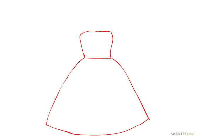 1/5. Sketch a skirt with a top that will fit a girl's body ...