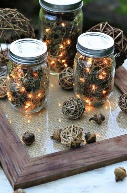 17 weihnachtliche ideen mit gl sern seite 3 von 17 diy bastelideen men co pinterest. Black Bedroom Furniture Sets. Home Design Ideas