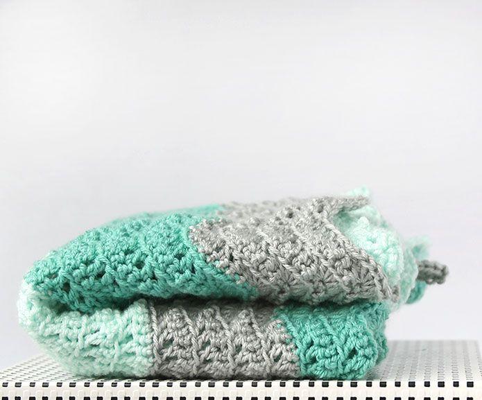 feather-and-fan-baby-blanket-61.jpg (695×577)   Crochet - n*9 ...