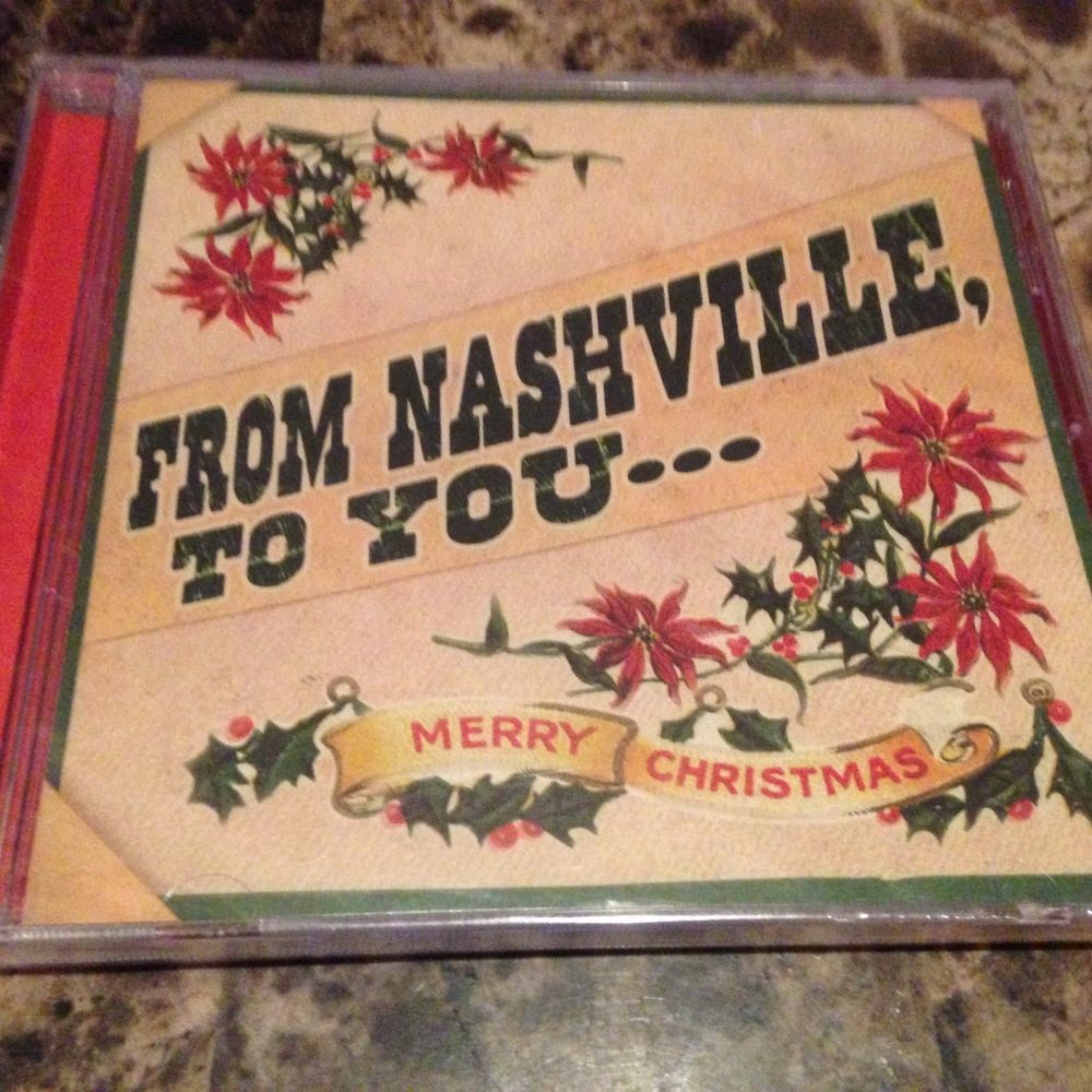 country christmas cd from nashville to you merry christmas chesney paisley new - Country Christmas Cd