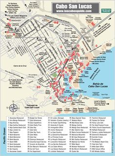 map of los cabos cabo san lucas norwegian ncl