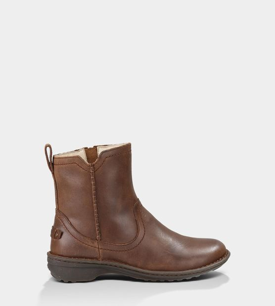 Neevah Leather Boots by UGG. Just got these and LOVE them