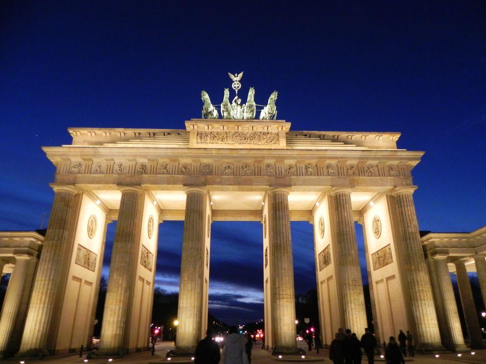 Brandenburger Tor Berlin Brandenburg Gate Berlin Ebay