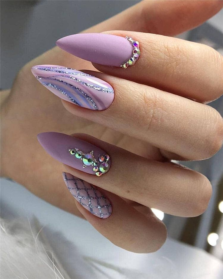 80 Latest Nail Art Trends Ideas To Try For Spring 2020 Oval