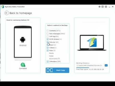 How to Transfer Photos between Computer and Samsung Galaxy