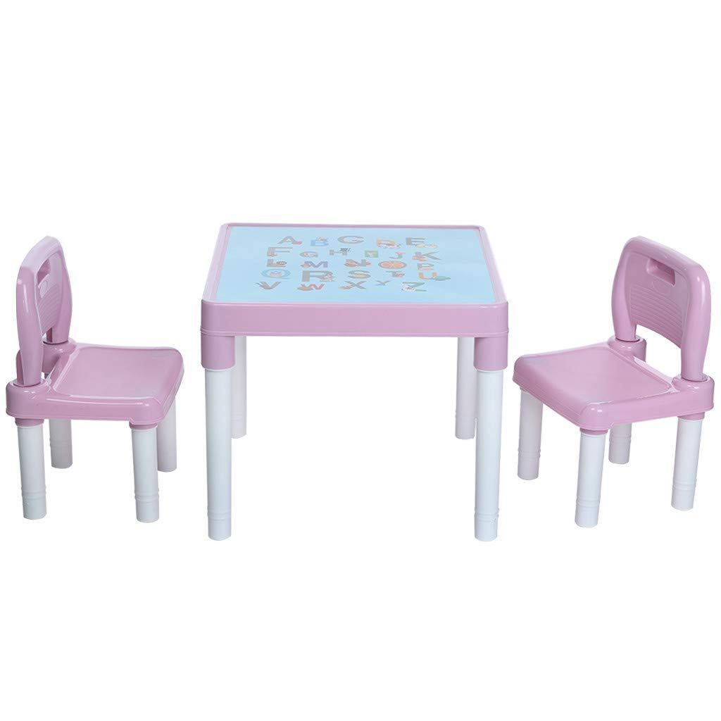 Lookvv Lookvv Children Kids Chair Set And Table 2 Chairs Included Toddler Gift Kids Table And Chairs Toddler Chair Table And Chair Sets