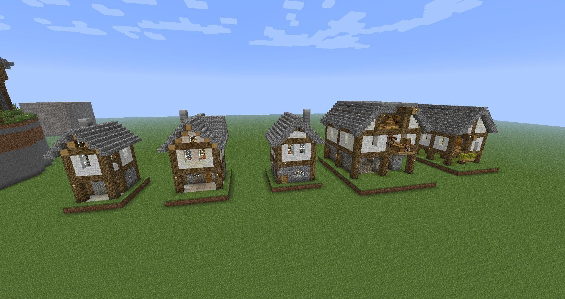 Minecraft small village house design - best house design