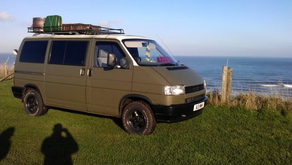 Raising suspension?? How far is safe?? Page 3 VW T4