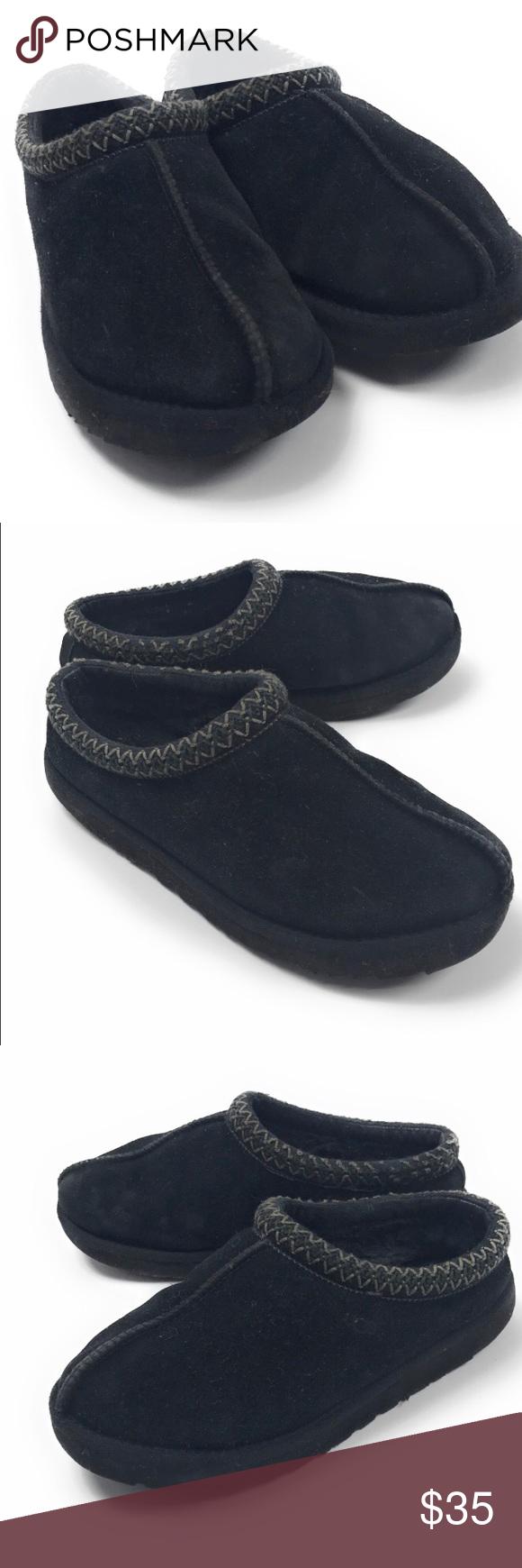 4761fa7961b UGG Women's Black Tasman Slippers Size 8 UGG Australia Women's ...