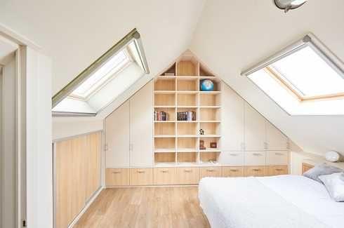 aménagement combles chambre à coucher sur mesure camber   Sous les ...