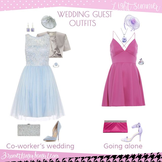 c897a5910d5 Wedding guest outfit ideas for Light Summer women by 30somethingurbangirl. com    Are you invited to a your co-worker s wedding or maybe going solo to  a ...