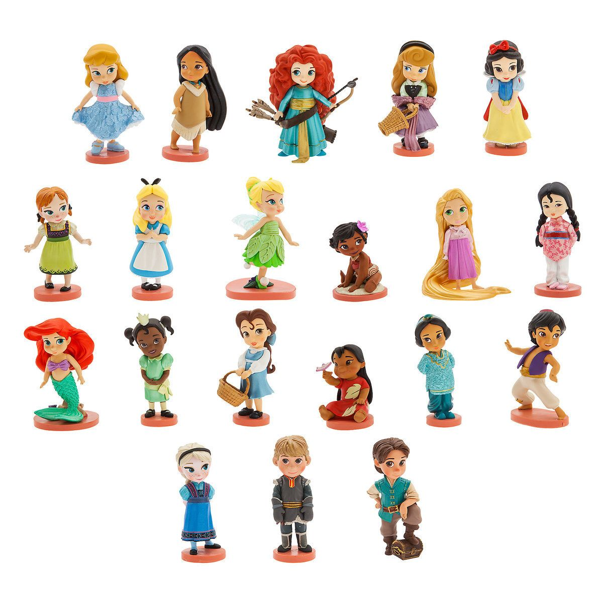 Disney S Animators Collection Mega Figure Set Disney Figures