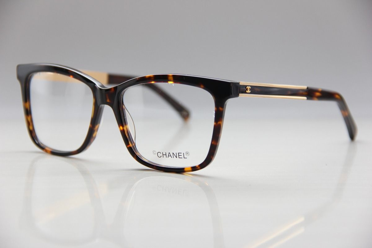armação p  óculos de grau chanel feminino frete grátis   Óculos 1755b6ce1e