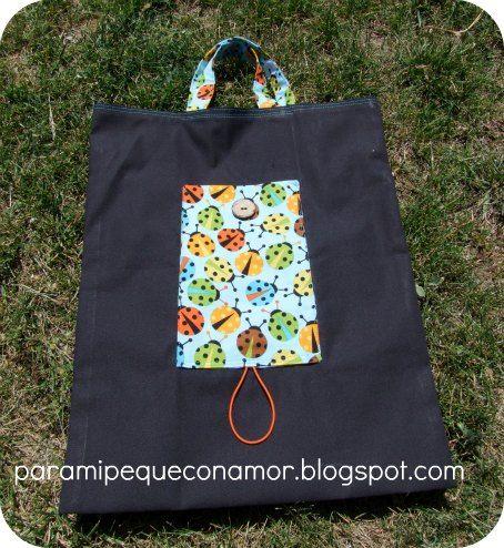 Para mi peque con amor: Eco bolsa para la compra