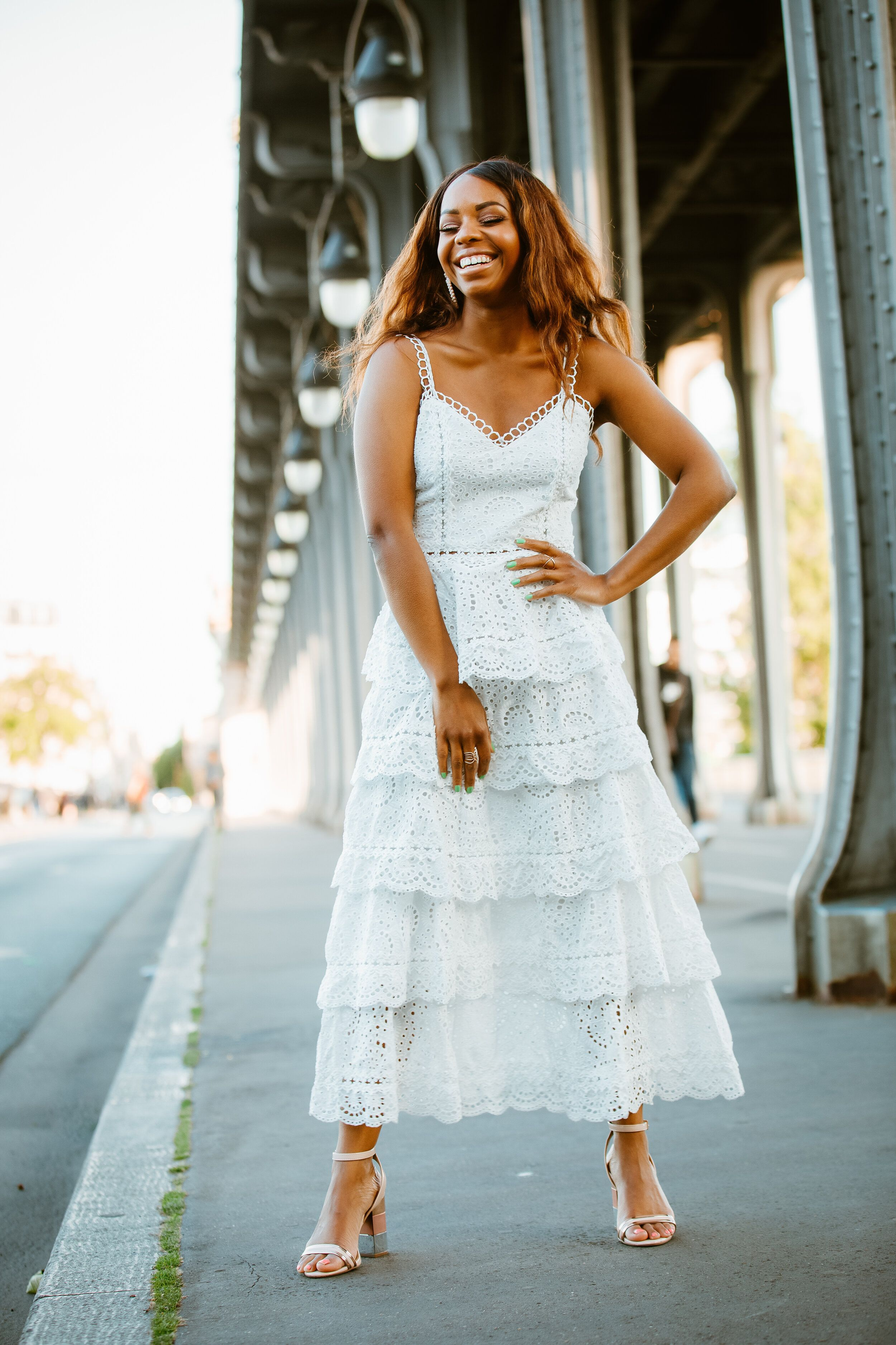 The Most Stylish And Affordable Outfits For Every Bridal Shower Malikah Kelly Bridal Shower Outfit Bridal Shower Attire Bridal Shower Dress [ 3750 x 2500 Pixel ]