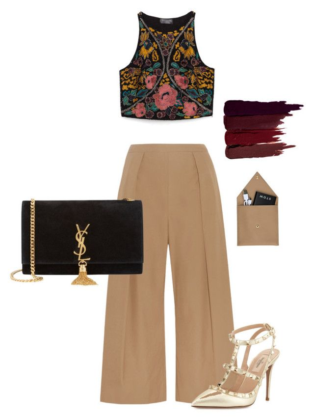 """blogger"" by elenagabriela-2 on Polyvore featuring N°21, Zara, Valentino, Yves Saint Laurent, STOW and Serge Lutens"