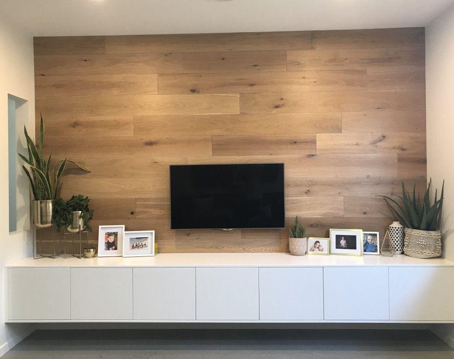 Full Custom Entertainment Unit Finished In Satin White Wall Mounted Tv Unit Tv Unit Tv Unit Decor
