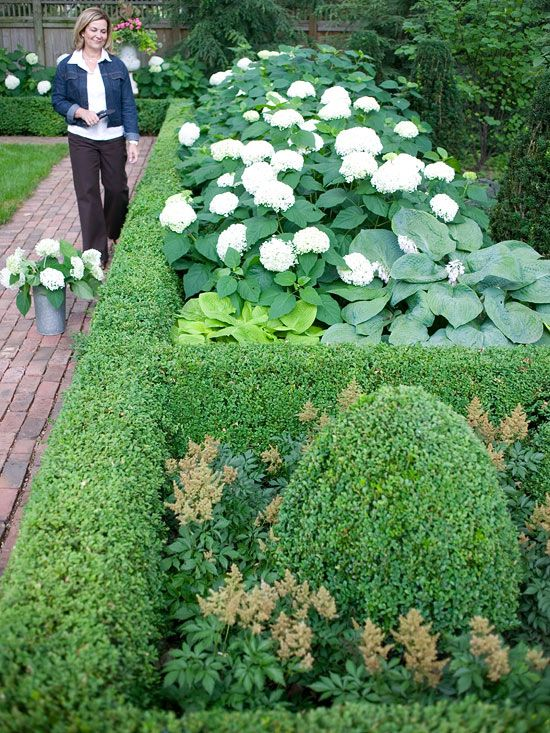 create formal style in your landscape - Flower Garden Ideas Illinois