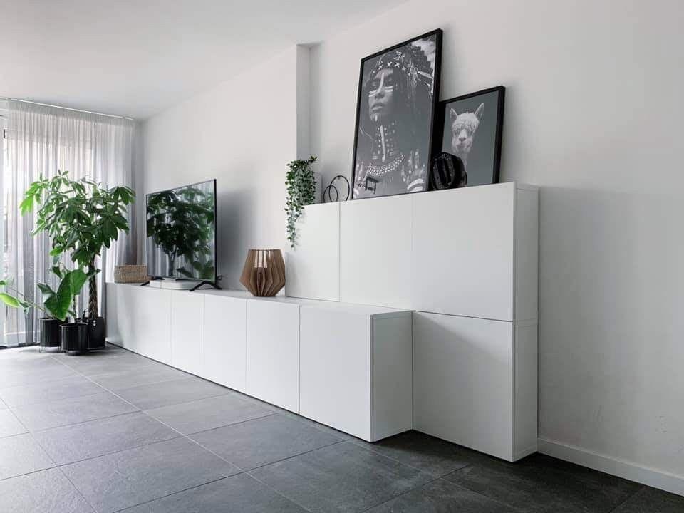 Ikea Besta kastopstelling