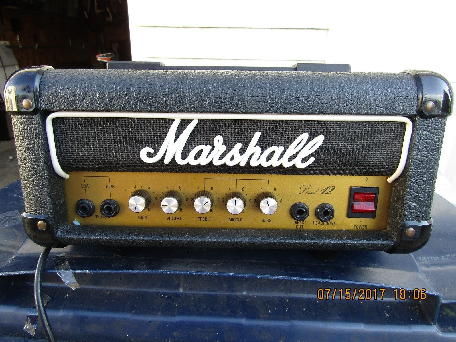 Marshall Lead 12 Mini Stack Head | Common Shopping in 2019