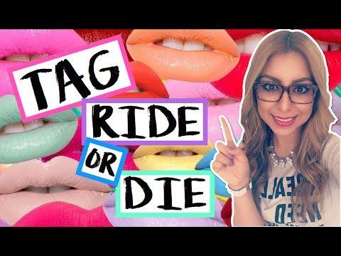 TAG! RIDE OR DIE MAKEUP - YouTube