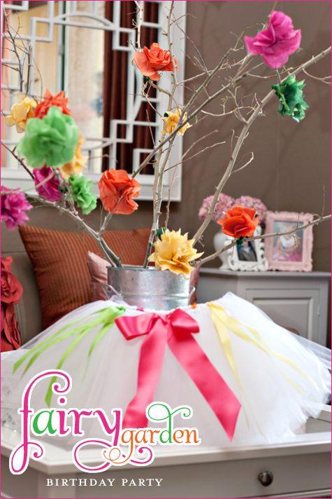 Idea para decorar algún rincón REAL PARTIES: Fairy Garden Birthday