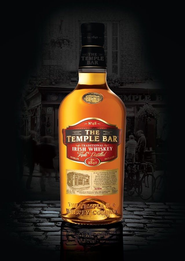 The Temple Bar Traditional Irish Whiskey Licores