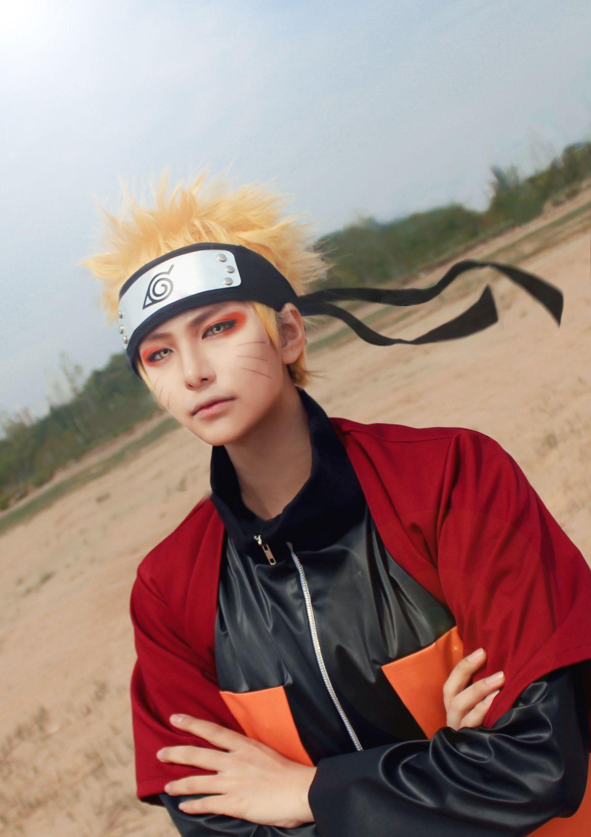 Naruto Shippuden Seunghyo Syo Naruto Uzumaki Cosplay Photo