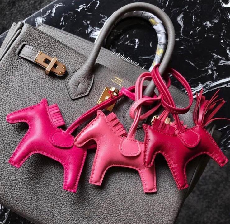 Hermes Horse Hair Bag Charm