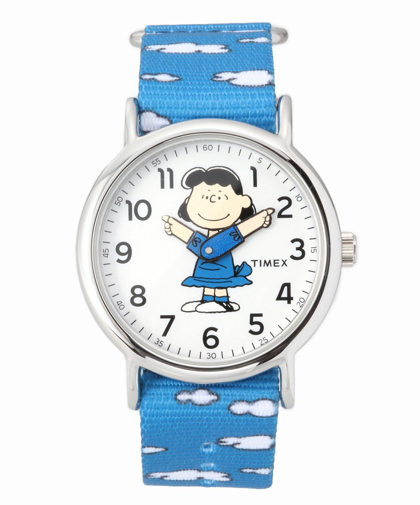 HIROB TIMEX xPEANUTS LUCY Timex, Leather watch, Accessories
