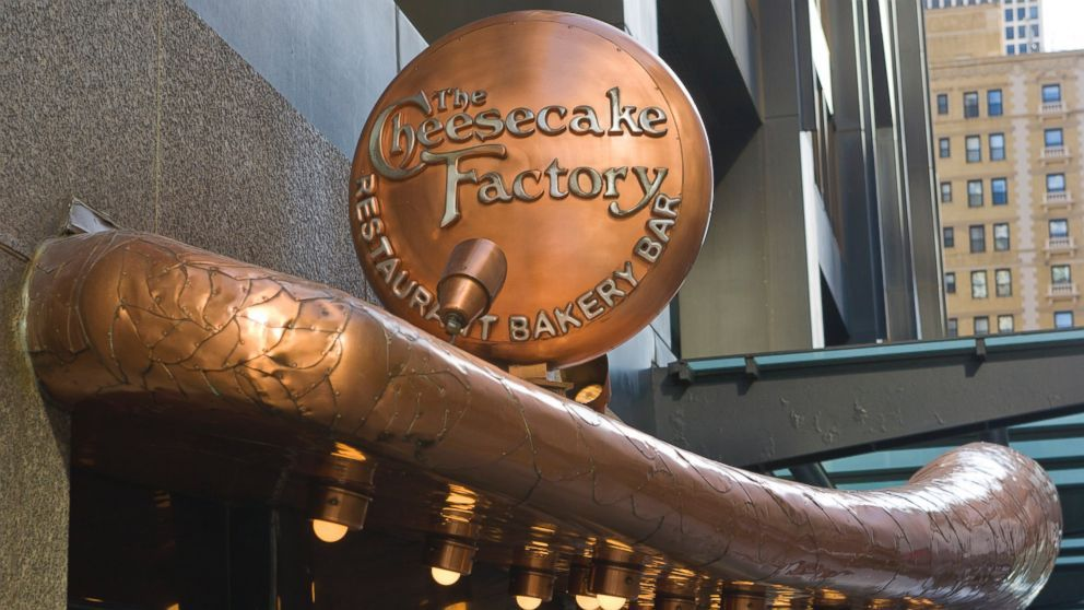 Go to the cheesecake factory in chicago cheesecake
