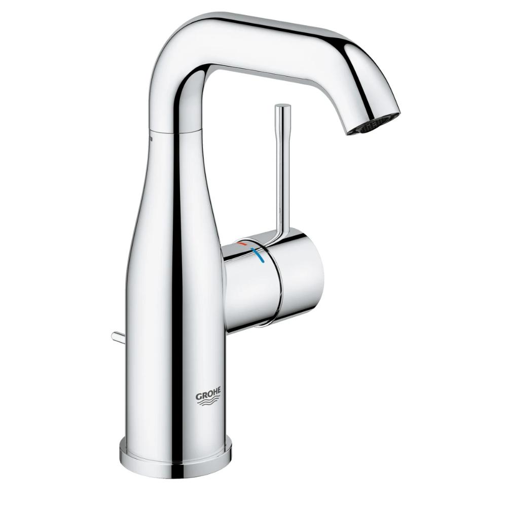 Grohe 2348500a Essence 1 2 Gpm Single Hole Build Com In 2021 Single Handle Bathroom Faucet Single Hole Bathroom Faucet Bathroom Faucets [ 1000 x 1000 Pixel ]