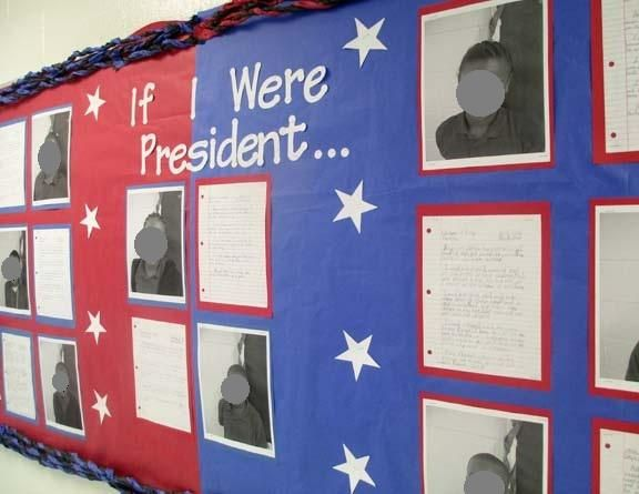 Social Studies Classroom Decoration : Great election themed bulletin board ideas