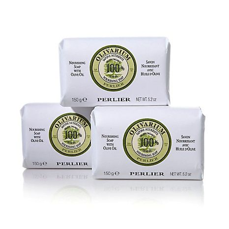 Perlier Olive Oil Soap Bar Trio Olive Oil Soap Bar Soap Soap