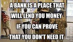 A gentleman walks into a #bank and says he wants to borrow... #humor #jokes