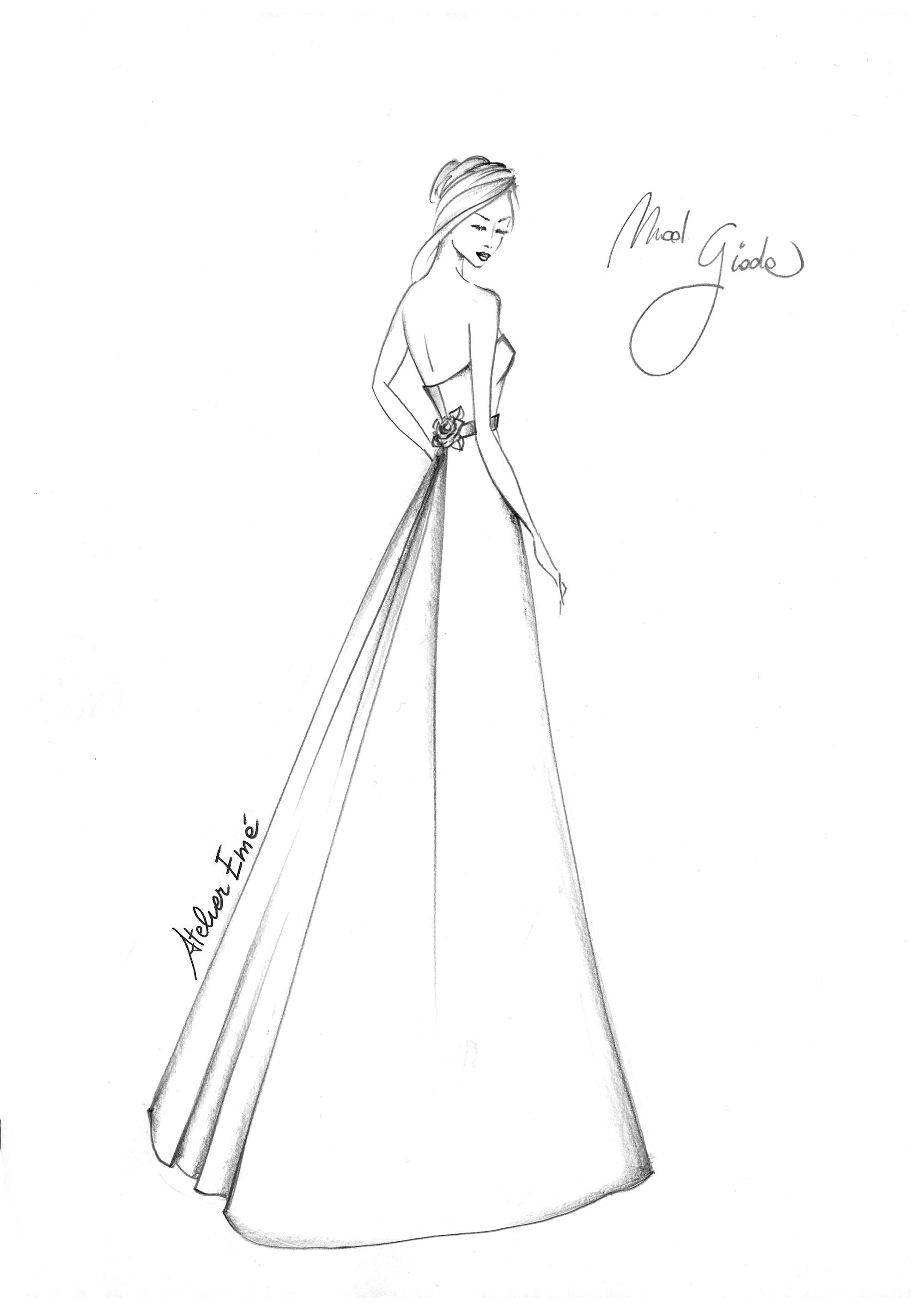 Disegni Di Moda Da Colorare.Giada Atelier Eme Illustrazioni Fashion Design Schizzi Illustrazioni Di Moda